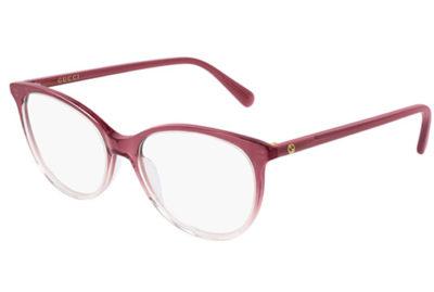 Gucci GG0550O 007 red burgundy transpar 53 Donna