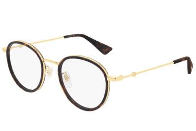 Gucci GG0608OK 003 havana gold transpare 49 Unisex